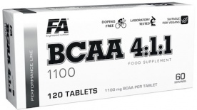 FA BCAA 4:1:1 1100 120 tablet