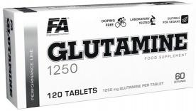 FA Glutamine 1250 120 tablet VÝPRODEJ