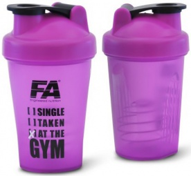 FA šejkr 400ml - Single. Taken. At the gym.