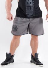 Nebbia Fitness šortky Hardcore 302 šedé