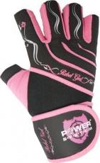 Power System Fitness rukavice REBEL GIRL růžová
