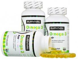 Survival Omega 3 Fair Power 100 kapslí