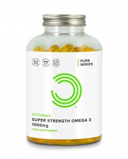 Bulk Powders Super Strength Omega 3 1000 mg
