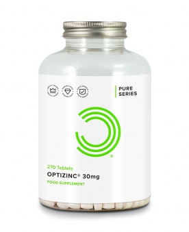 Bulk Powders OptiZinc 30mg