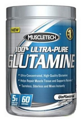 MuscleTech 100% Ultra Pure Glutamine 300g