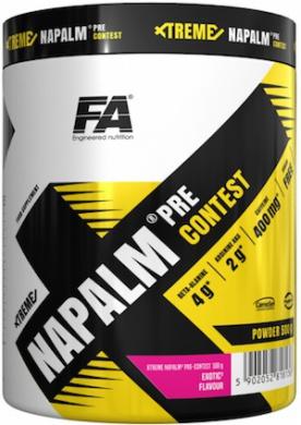 FA Xtreme Napalm Pre-Contest 500 g + 2x WOW! Protein Bar 40g ZDARMA