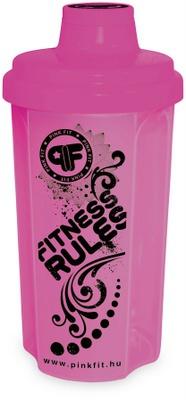 Šejkr BioTech PinkFit 500 ml
