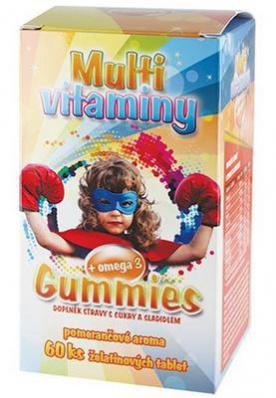 MedPharma Multivitamín + omega 3 60 tablet