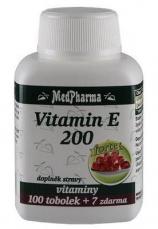 MedPharma Vitamín E 200 107 kapslí