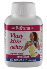 MedPharma Vlasy, kůže, nehty 67 tablet