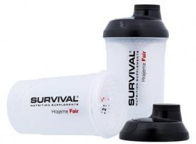 Survival Šejkr transparentní se zásobníky