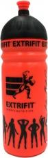 Extrifit Sportovní láhev bidon 750 ml - oranžová
