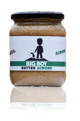 BIGBOY Mandlové máslo ( Almond Butter ) 550 g - smooth
