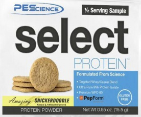 PEScience Select Protein 15,5g US verze - snickerdoodle