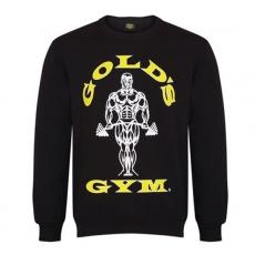 Gold's Gym pánská mikina bez kapuce černá