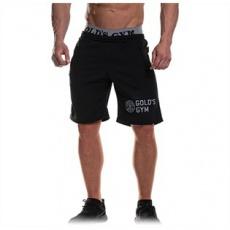 Gold's Gym pánské šortky s gumou černé