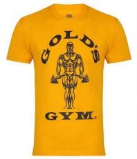 Gold's Gym pánské tričko žluté