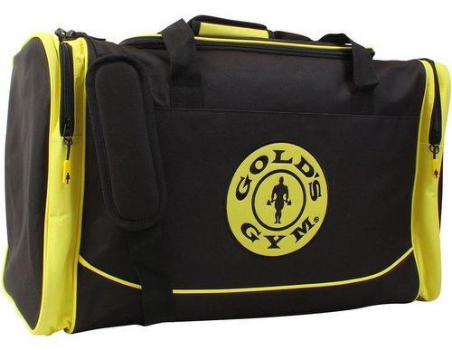 Gold s Gym sportovní taška - černo žlutá  f7a88f62cc
