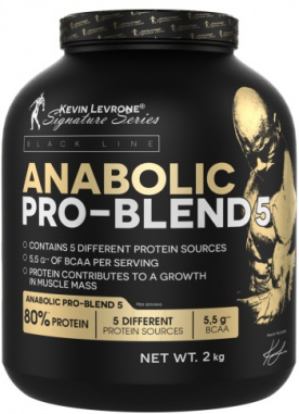 Kevin Levrone Anabolic Pro Blend 5 2000g - coffee frappe