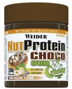Weider Nut Protein Choco Spread 250 g - crunch VÝPRODEJ