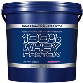 Scitec 100% Whey protein 5kg - vanilka VÝPRODEJ