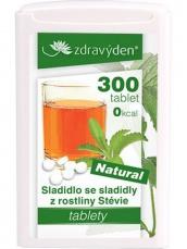 Zdravý den Stevia tablety 300 tablet 18g