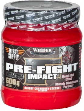 Weider Pre-Fight Impact 600 g PROŠLÉ DMT