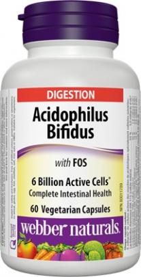 Webber Acidophilus Bifidus 60 kapslí