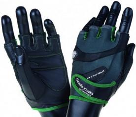 Mad Max rukavice Klaudia No.93 šedo/zelené