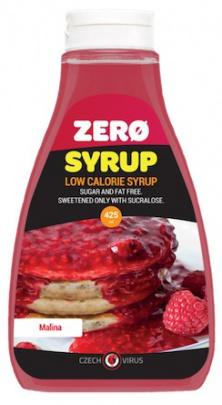 Czech Virus Zero Syrup 425 ml - malina PROŠLÉ DMT