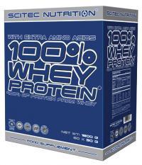 Scitec 100% Whey protein 60 x 30g mix příchutí