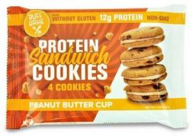 Buff bake Protein Sandwich cookies 51g - Peanut Butter Cup