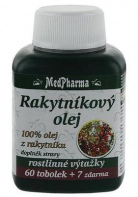 MedPharma Rakytníkový olej 67 tablet