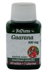 MedPharma Guarana 800 mg 107 tablet