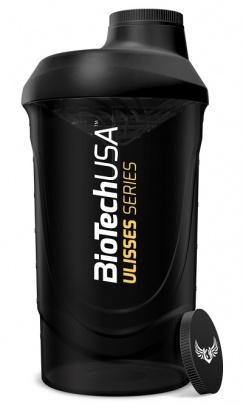 BioTechUSA šejkr Ulisses Wave 600 ml černý