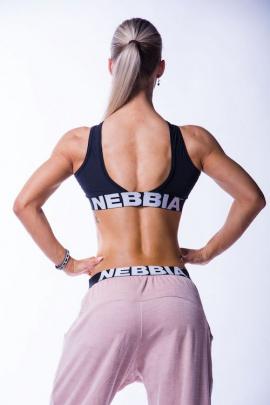 Nebbia crossed sports podprsenka 622 černá DOPRODEJ