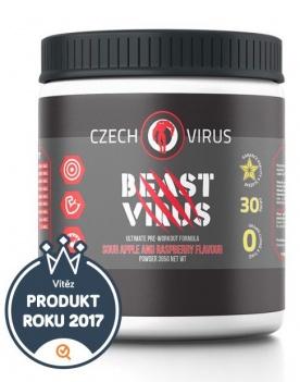 Czech Virus Beast Virus 395 g - kyselé jablko/malina