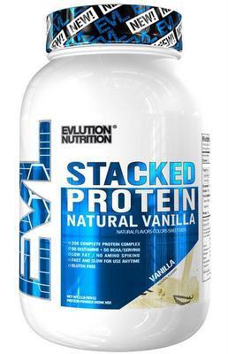 EVLution Nutrition Stacked Protein 1800g - vanilka PROŠLÉ DMT