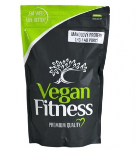 Vegan Fitness Mandlový Protein 1000 g