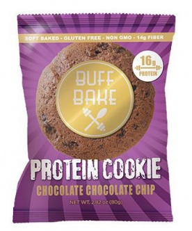 Buff Bake Protein Cookie 80 g - chocolate chocolate chip PROŠLÉ DMT