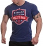 Gold's Gym pánské tričko Vintage tmavě modré