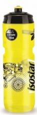 Isostar EKO-BIO Láhev Bidon 800 ml - černo žlutá (push pull)
