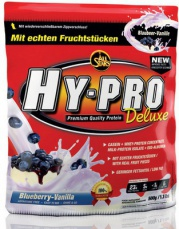 All Stars Protein Hy-Pro Deluxe 500g - brusinka/jogurt PROŠLÉ DMT