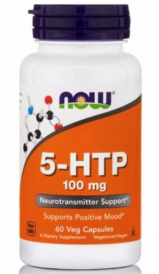 Now Foods 5-HTP 100 mg 60 kapslí