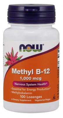 Now Foods Methyl B-12 1000 mcg 100 tablet