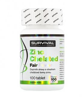 Survival Zinc Chelated Fair Power 100 tablet