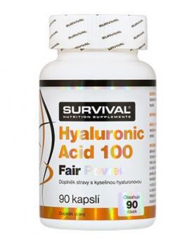 Survival Hyaluronic Acid 100 Fair Power 90 kapslí DOPRODEJ