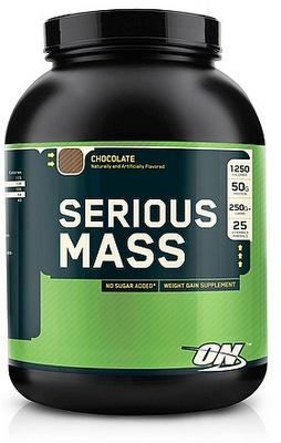 Optimum Nutrition Serious Mass 2727g - jahoda PROŠLÉ DMT
