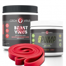 Czech Virus Beast Virus + m3/s PUMP + 2x gumové expandery Crane