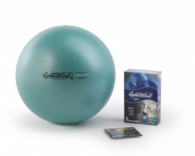 Gymnastic Ball maxafe 75 cm zelený